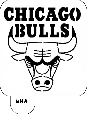 Chicago Bulls Logo Coloring Art Coloring Pages