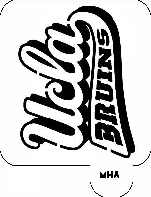 ucla logo coloring pages - photo#4