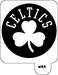 MR. HAIR ART STENCIL - BOSTON CELTICS 2