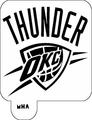 okc thunder logo coloring pages - photo#28