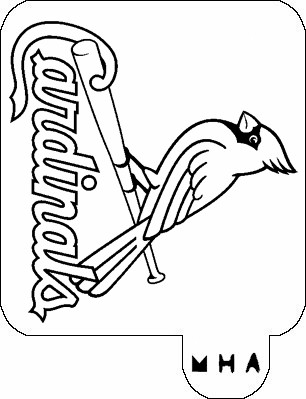 mike trout logo coloring pages   Bryce Harper Coloring Pages Coloring Pages