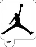 MR. HAIR ART STENCIL - AIR JORDAN