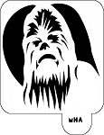 MR. HAIR ART STENCIL - CHEWBACCA