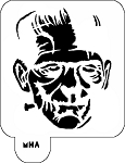 Mr. HAIR ART STENCIL - Frankenstein