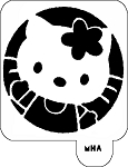 Mr. HAIR ART STENCIL - Hello Kitty 2