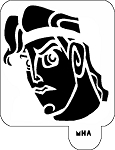 Mr. HAIR ART STENCIL - Hercules