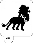 Mr. HAIR ART STENCIL - Lion 1