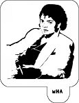 Mr. HAIR ART STENCIL - Michael Jackson 2