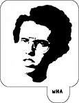 Mr. HAIR ART STENCIL - Napoleon Dynamite 2
