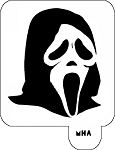 Mr. HAIR ART STENCIL - Scream