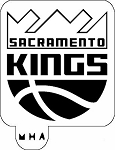 MR. HAIR ART STENCIL - SACRAMENTO KINGS LOGO