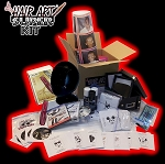 Mr. Hair Art SUPER KIT (Comes with 100 Stencils,Hair Art Trimmers,etc...)