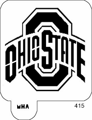 126241595778295414 also 202229622 as well Letter Stencils together with Mr HAIR ART STENCIL Ohio State Buckeyes Logo p 415 besides 560627853590623590. on painting designs for walls in your home