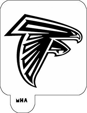 MR. HAIR ART STENCIL - ATLANTA FALCONS