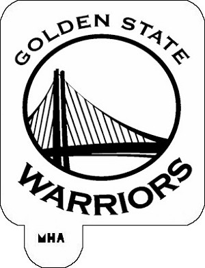 MR. HAIR ART STENCIL - GOLDEN STATE WARRIORS