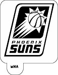 MR. HAIR ART STENCIL - PHOENIX SUNS