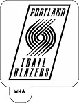 MR. HAIR ART STENCIL - PORTLAND TRAIL BLAZERS
