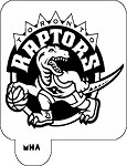 MR. HAIR ART STENCIL - TORONTO RAPTORS