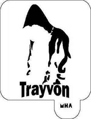 MR. HAIR ART STENCIL - TRAYVON