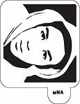 MR. HAIR ART STENCIL - TRAYVON 2