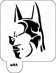 MR. HAIR ART STENCIL - BATMAN 1