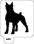 MR. HAIR ART STENCIL - DOBERMAN PINSCHER
