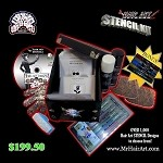 Mr. Hair Art STENCIL KIT (Comes with 50 Stencils, DVD, Cow Hide, etc...)